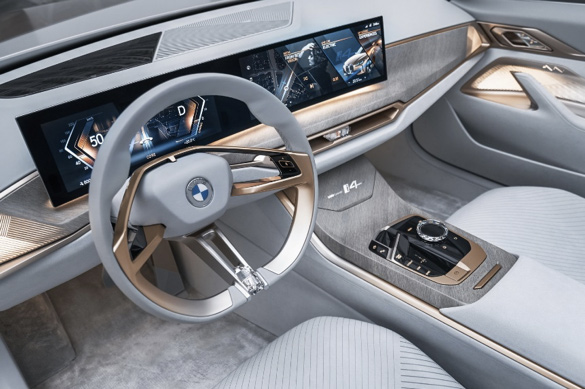 Interni Bmw i4