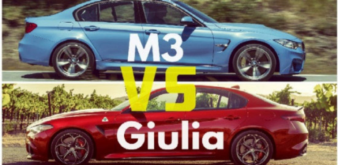 Top Gear Chris Harris Alfa Romeo vs BMW M3
