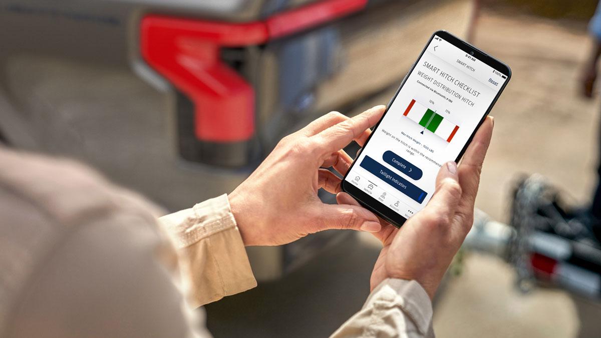 App FordPass su smartphone