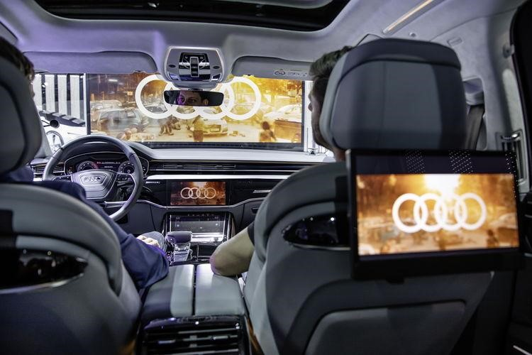 Audi Immersive In-Car Entertainment