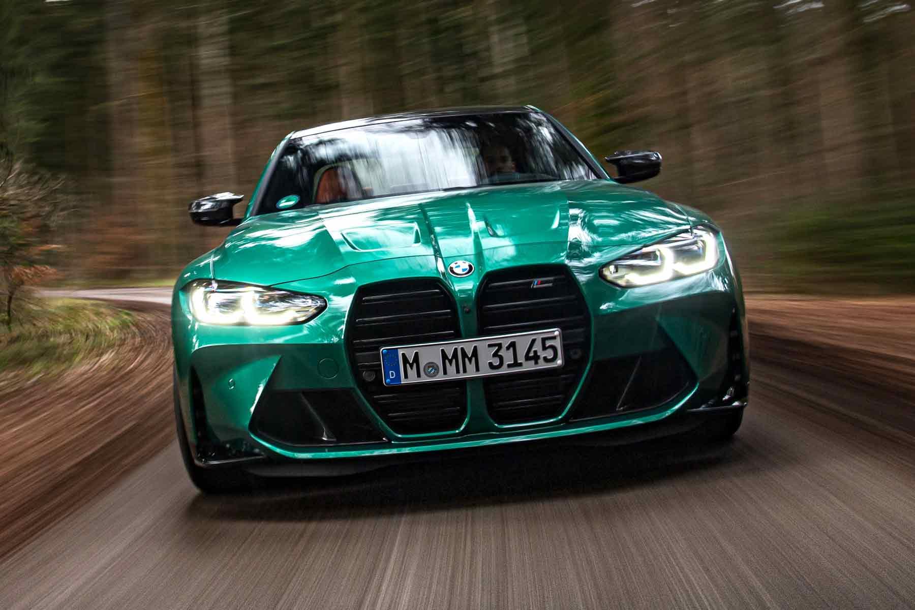 BMW M3 verde