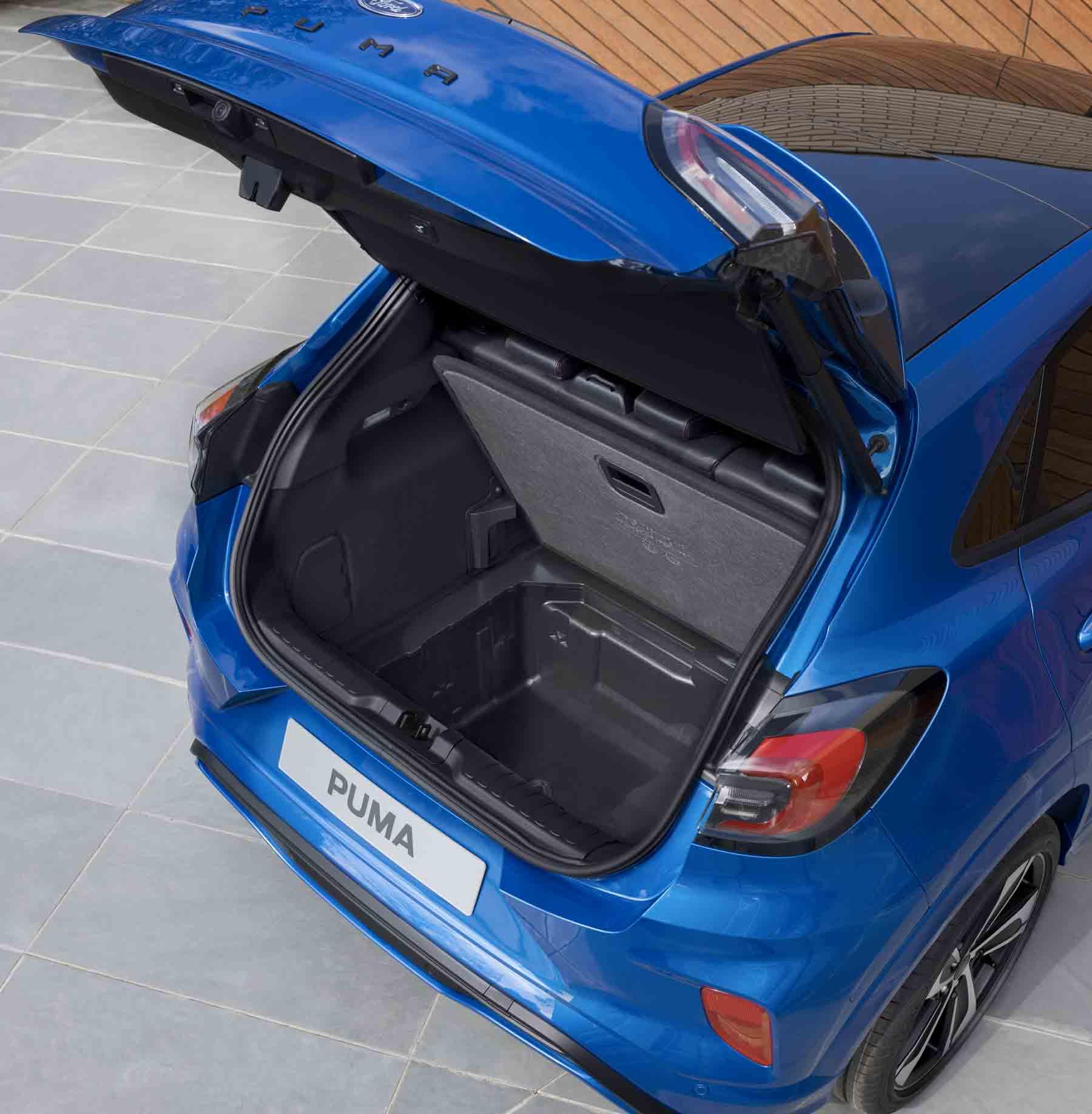 Bagagliaio con Megabox Ford Puma
