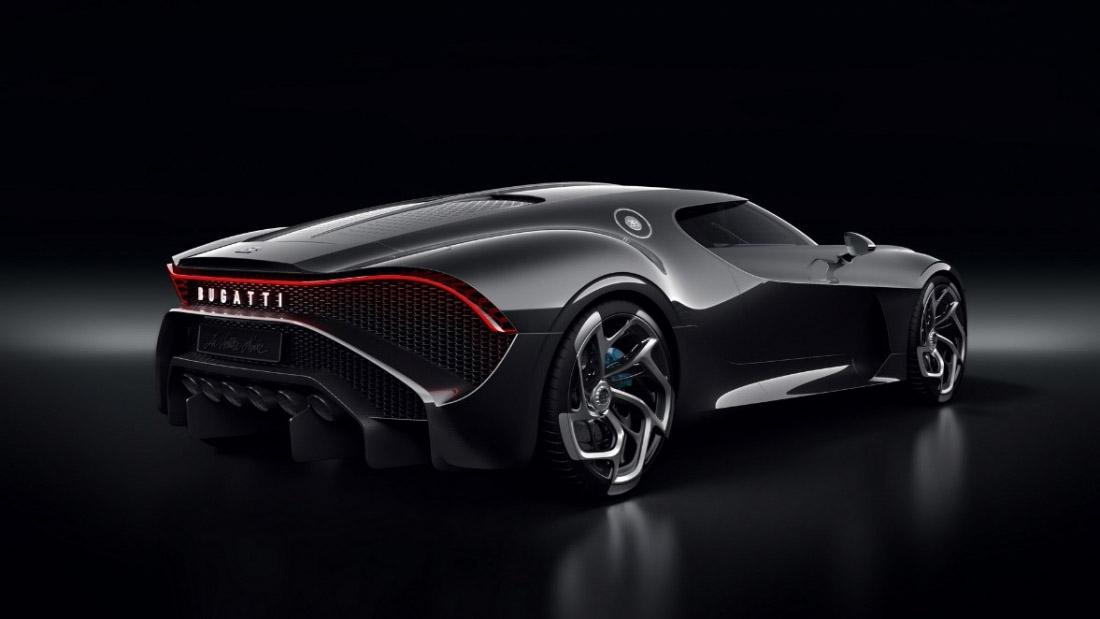 Retro Bugatti La Voiture Noire