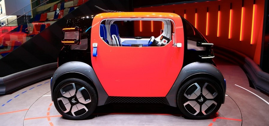 Citroen Ami One al Salone 2019