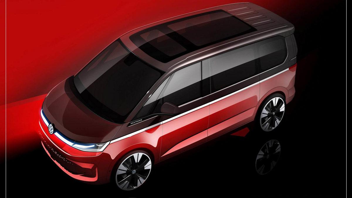 Concept Volkswagen Multivan T7