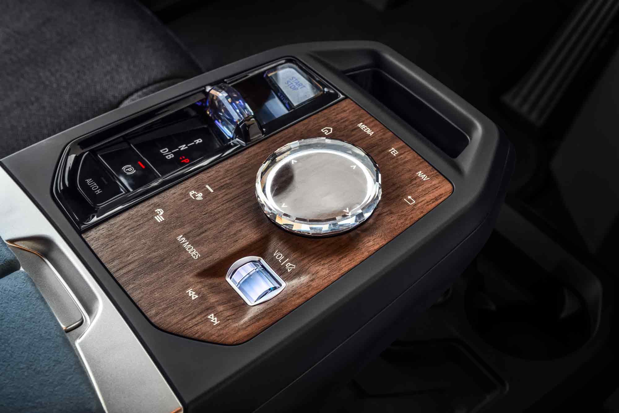 Consolle centrale BMW iX