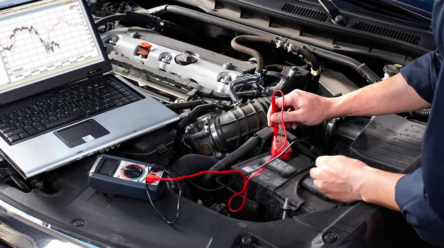 Controllo componenti meccanici