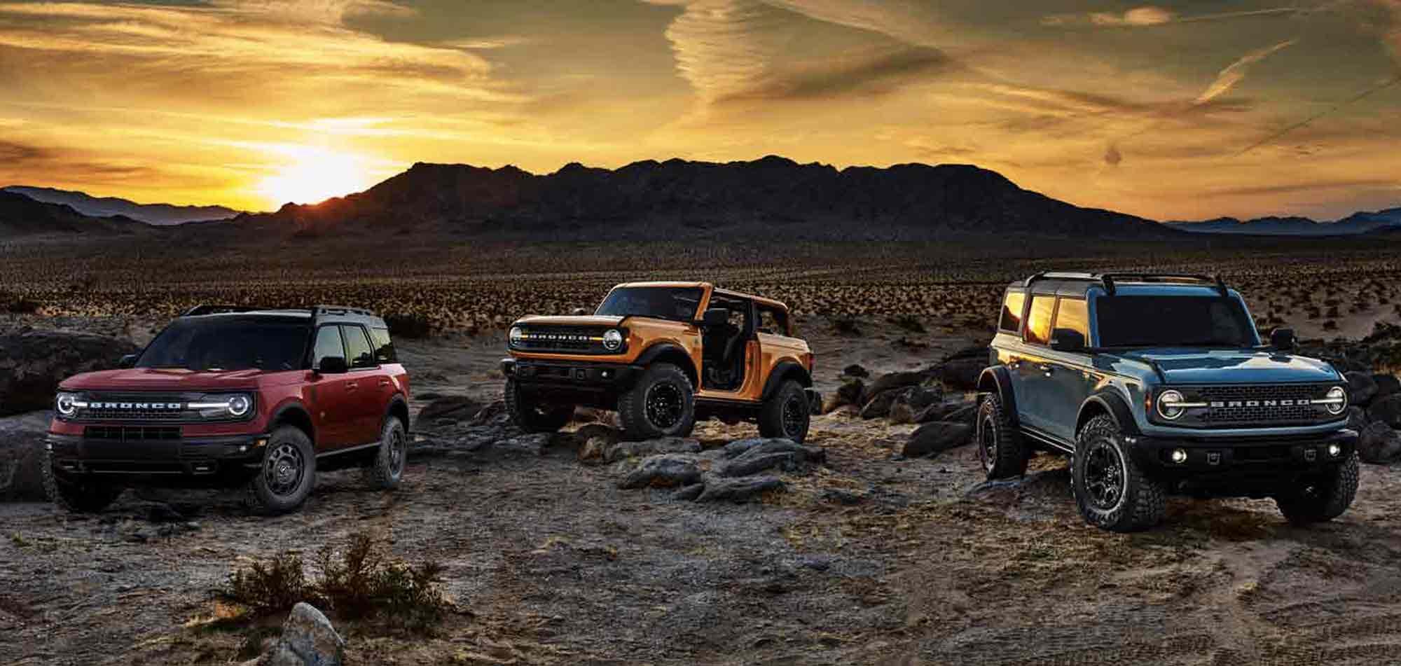 Famiglia Ford Bronco