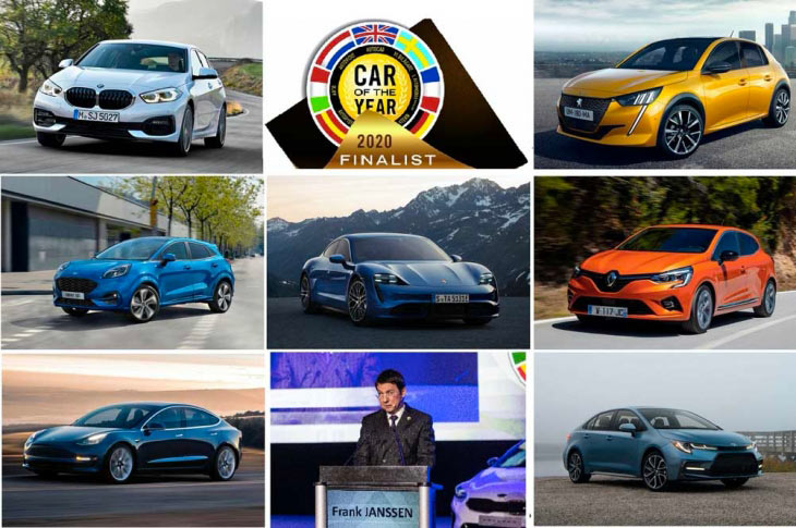 Finaliste Car of the Year 2020