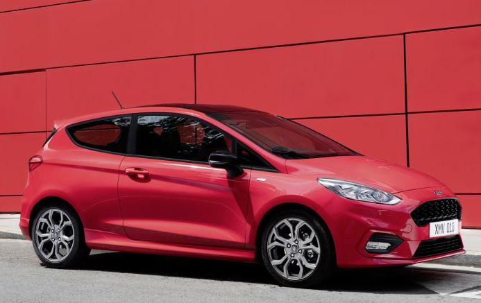 Ford Fiesta 2017 Red