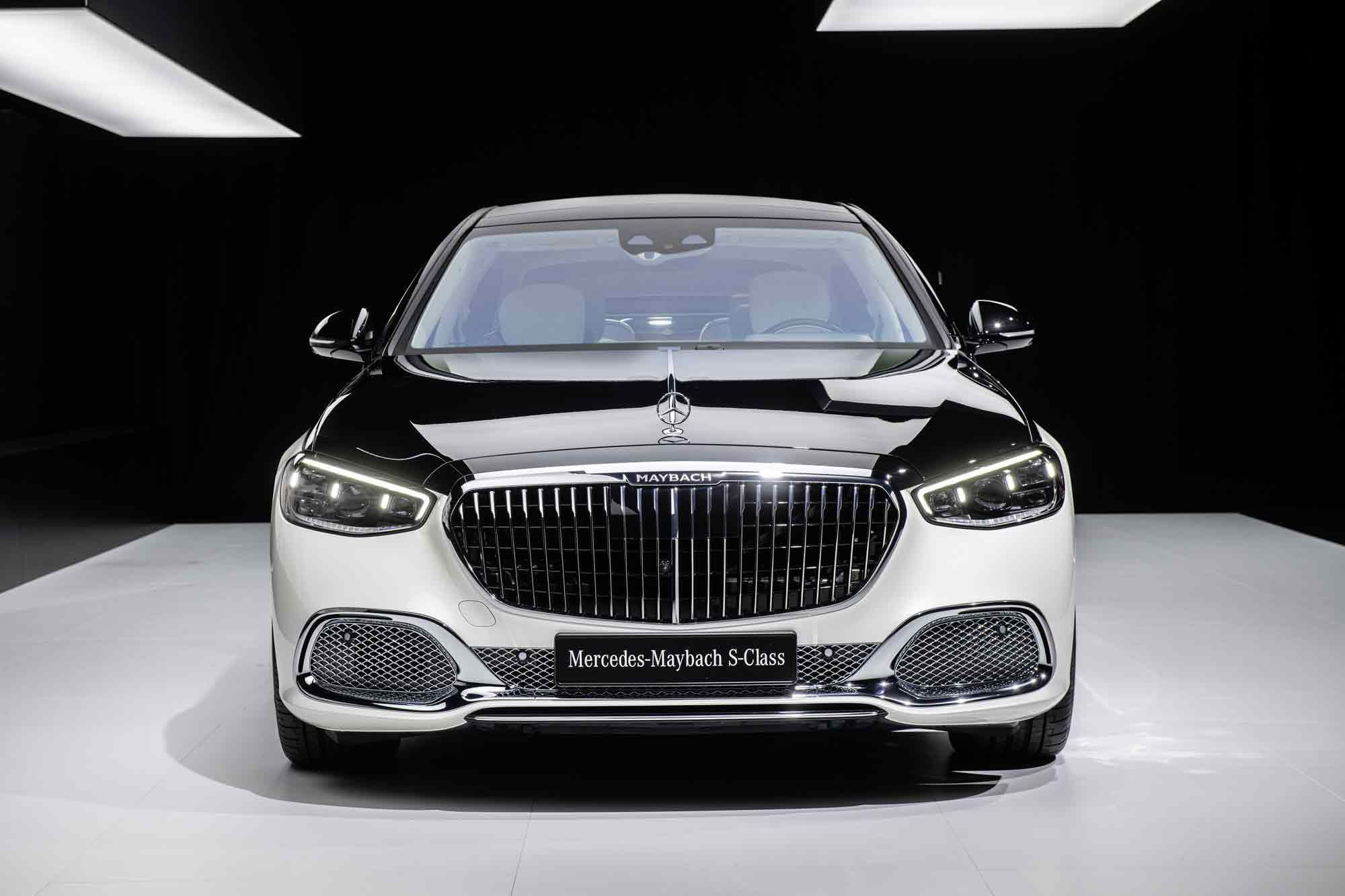 Frontale Mercedes Classe S Maybach