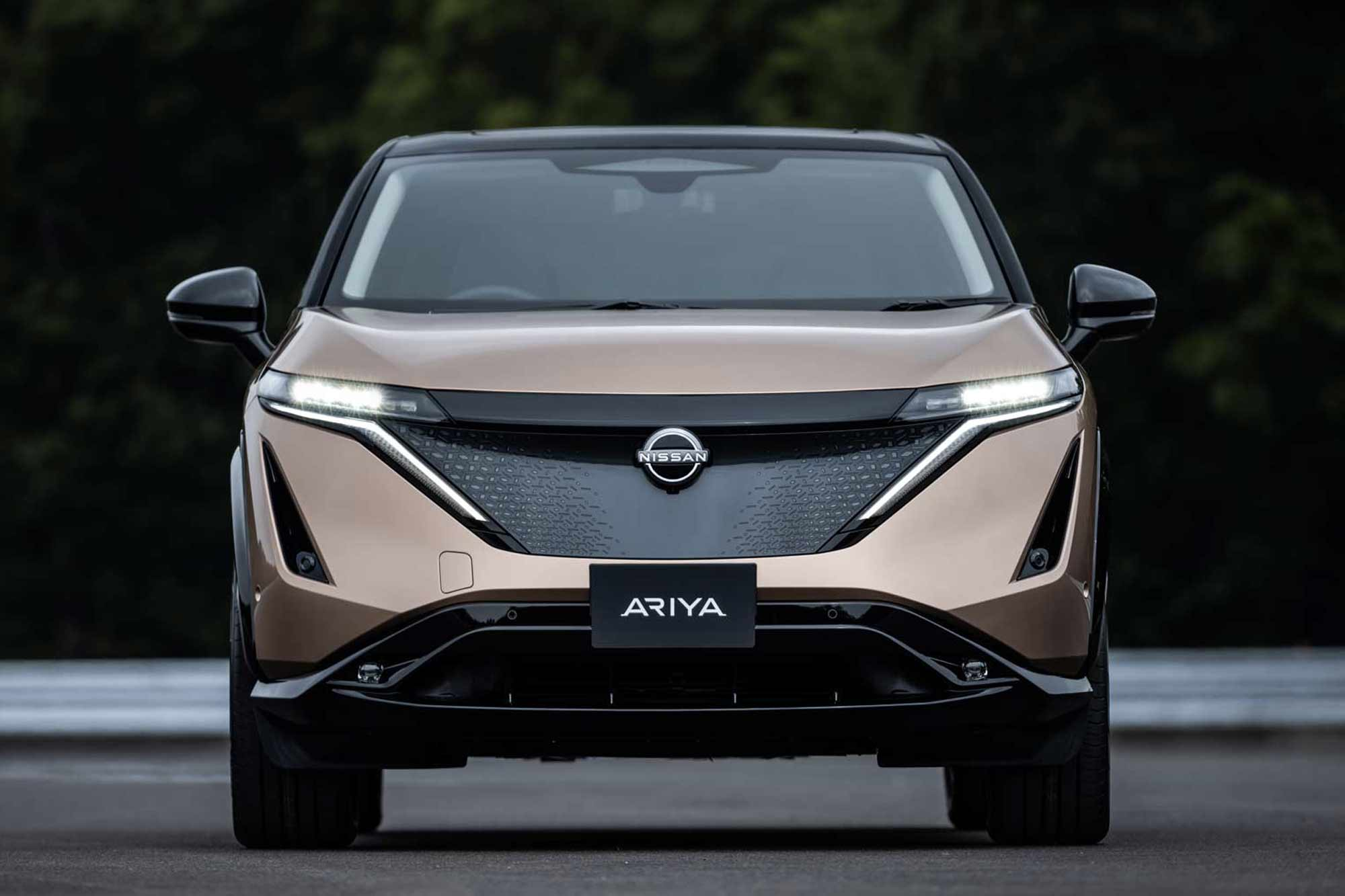 Frontale Nissan Ariya