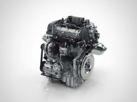 Il motore endotermico a 3 cilindri XC40