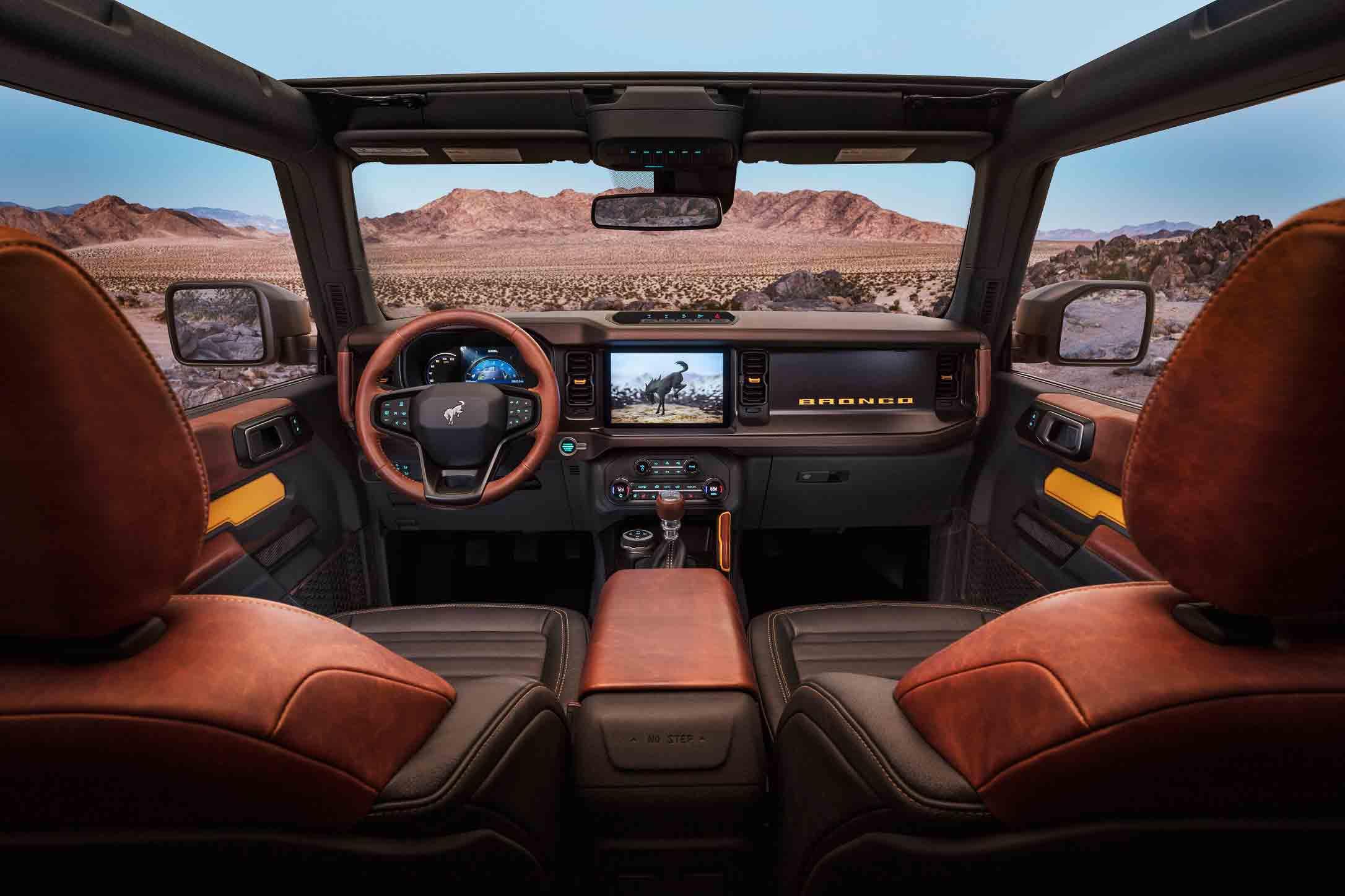 Interni Ford Bronco