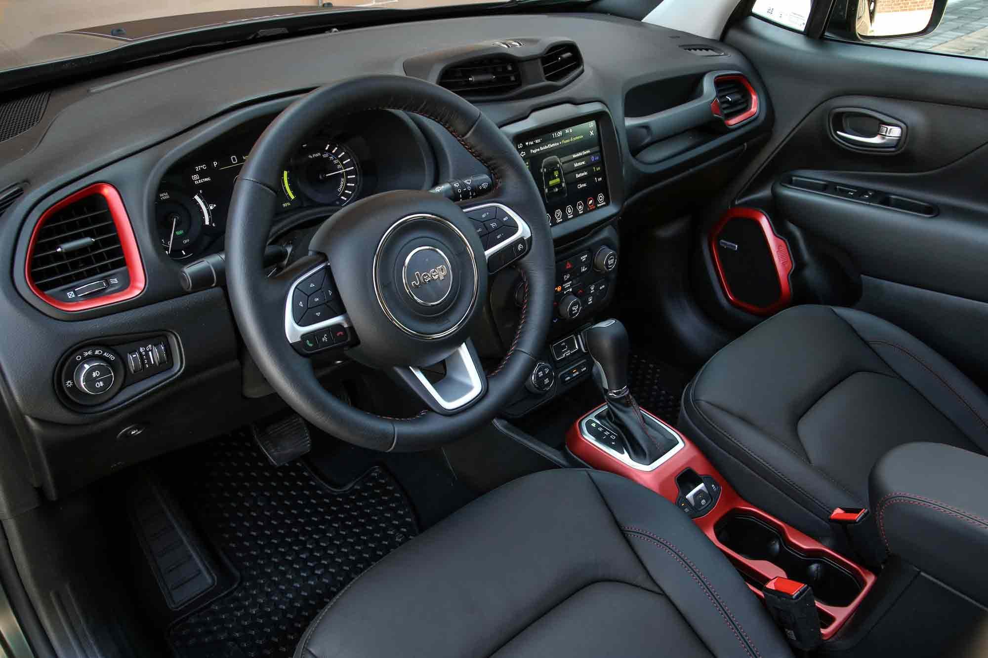 Interni Jeep Renegade