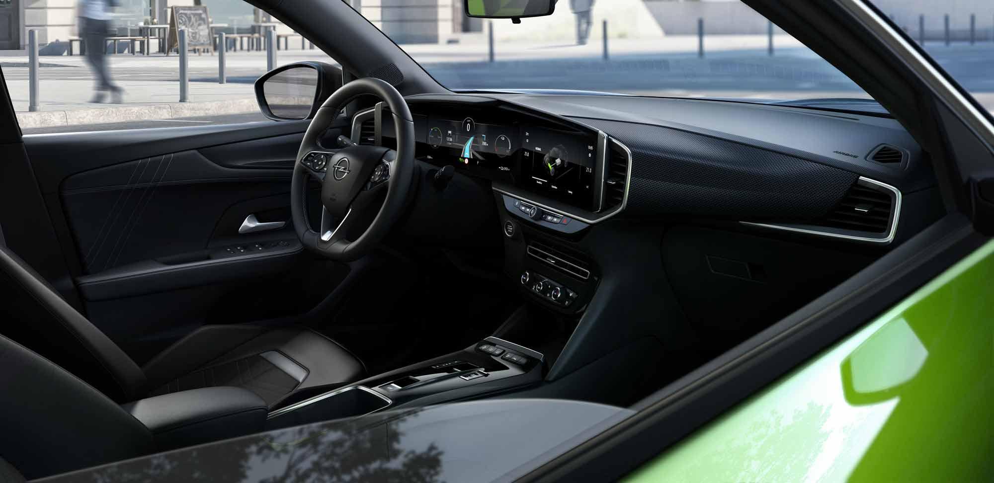 Interni Opel Mokka