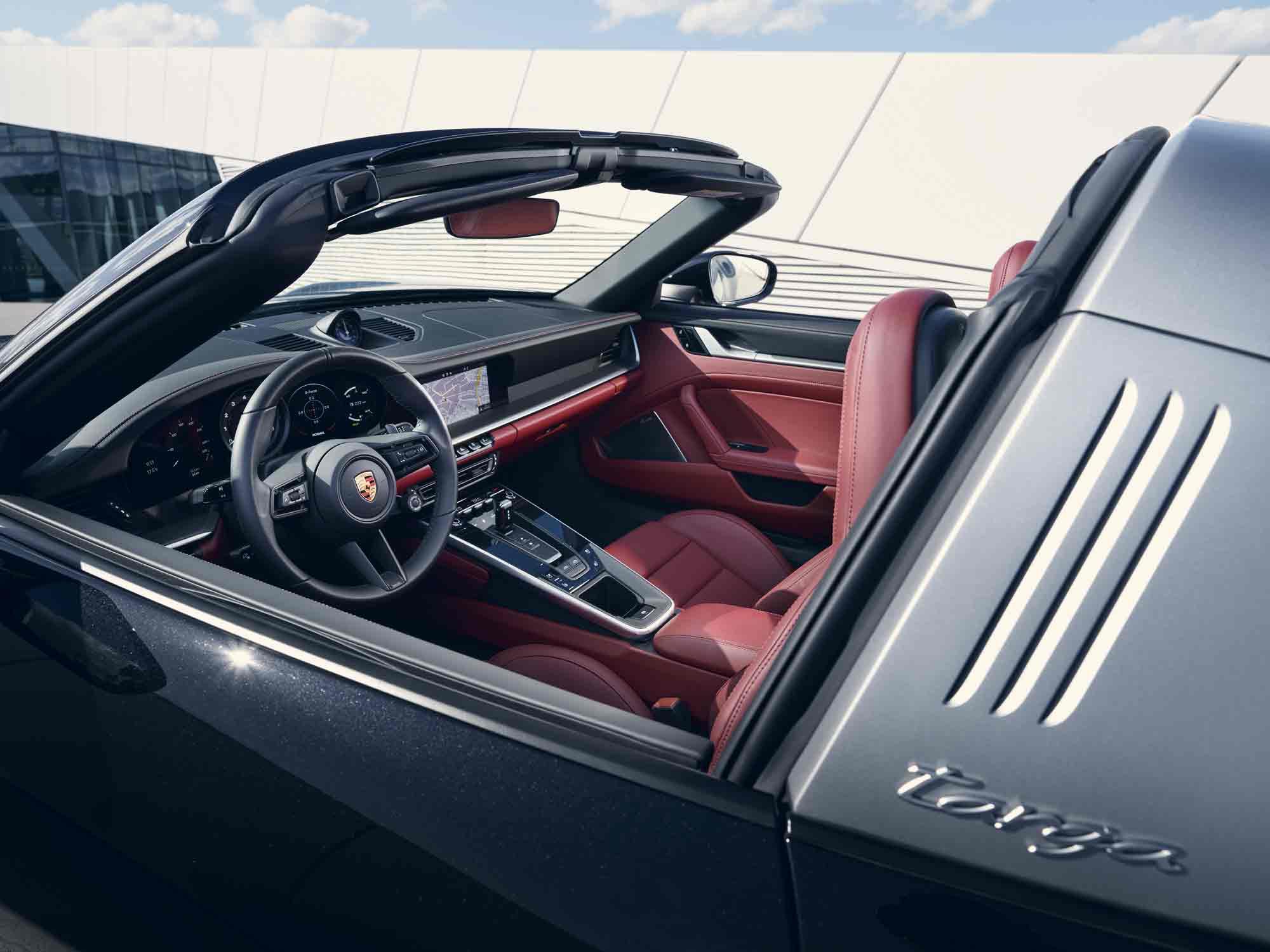 Interni Porsche 911 Targa
