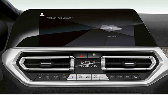 Control Display nuova Bmw Serie 3