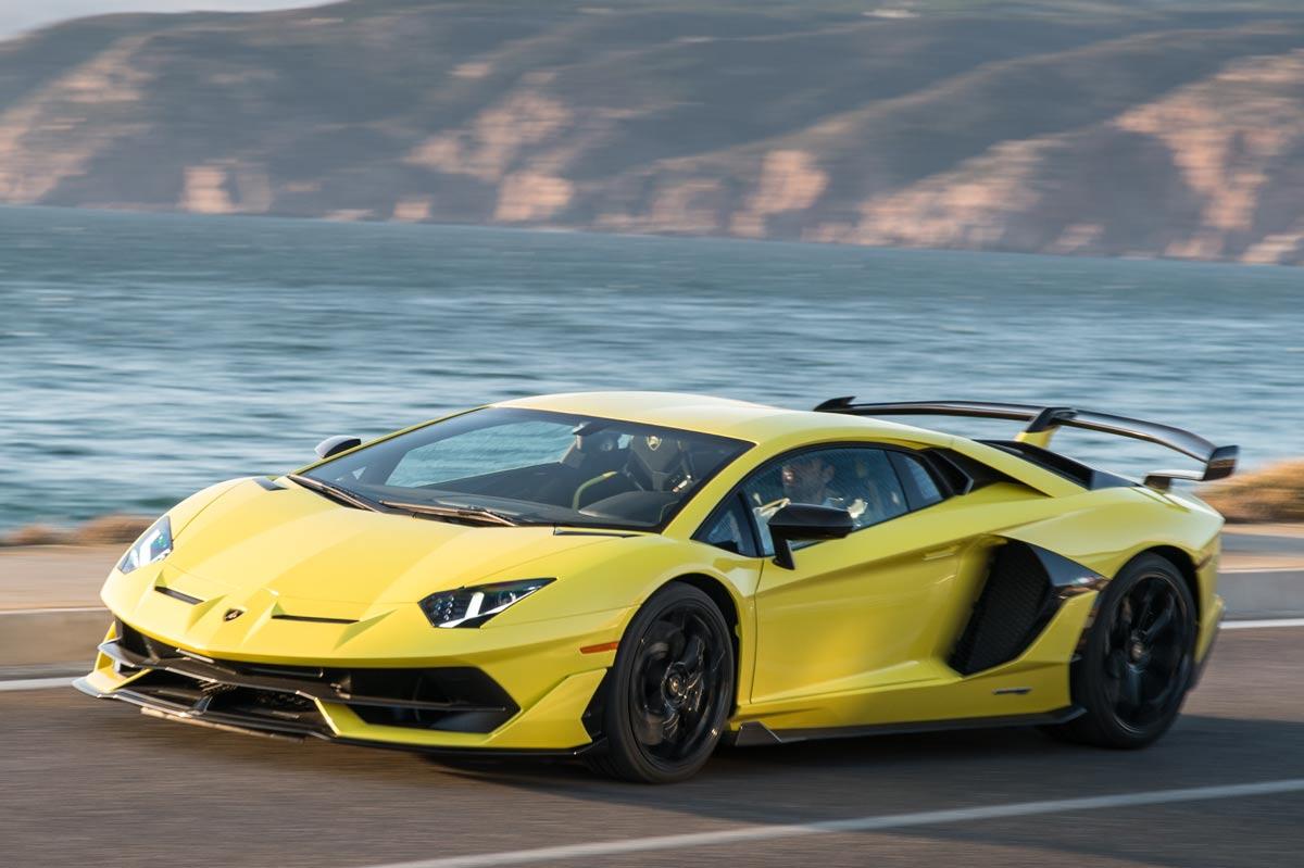 Lamborghini Aventador SVJ Gialla