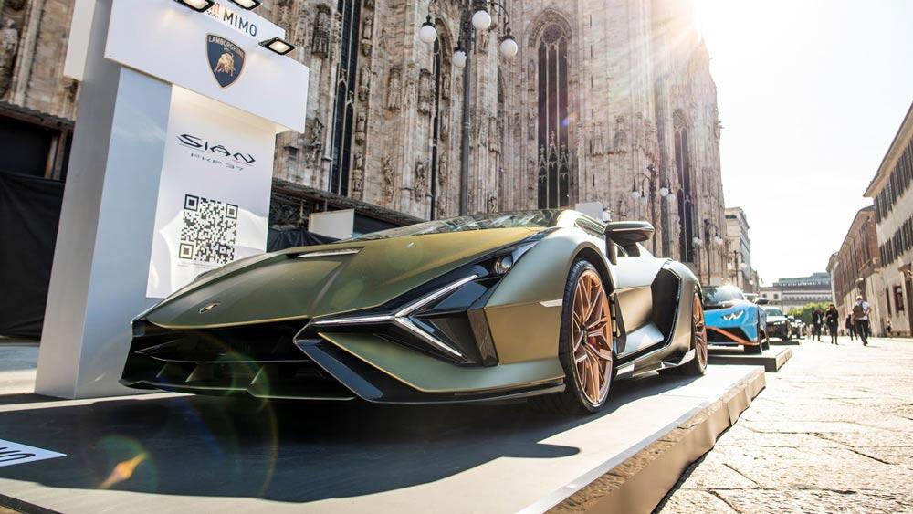 Lamborghini Sian Coupe al MiMo