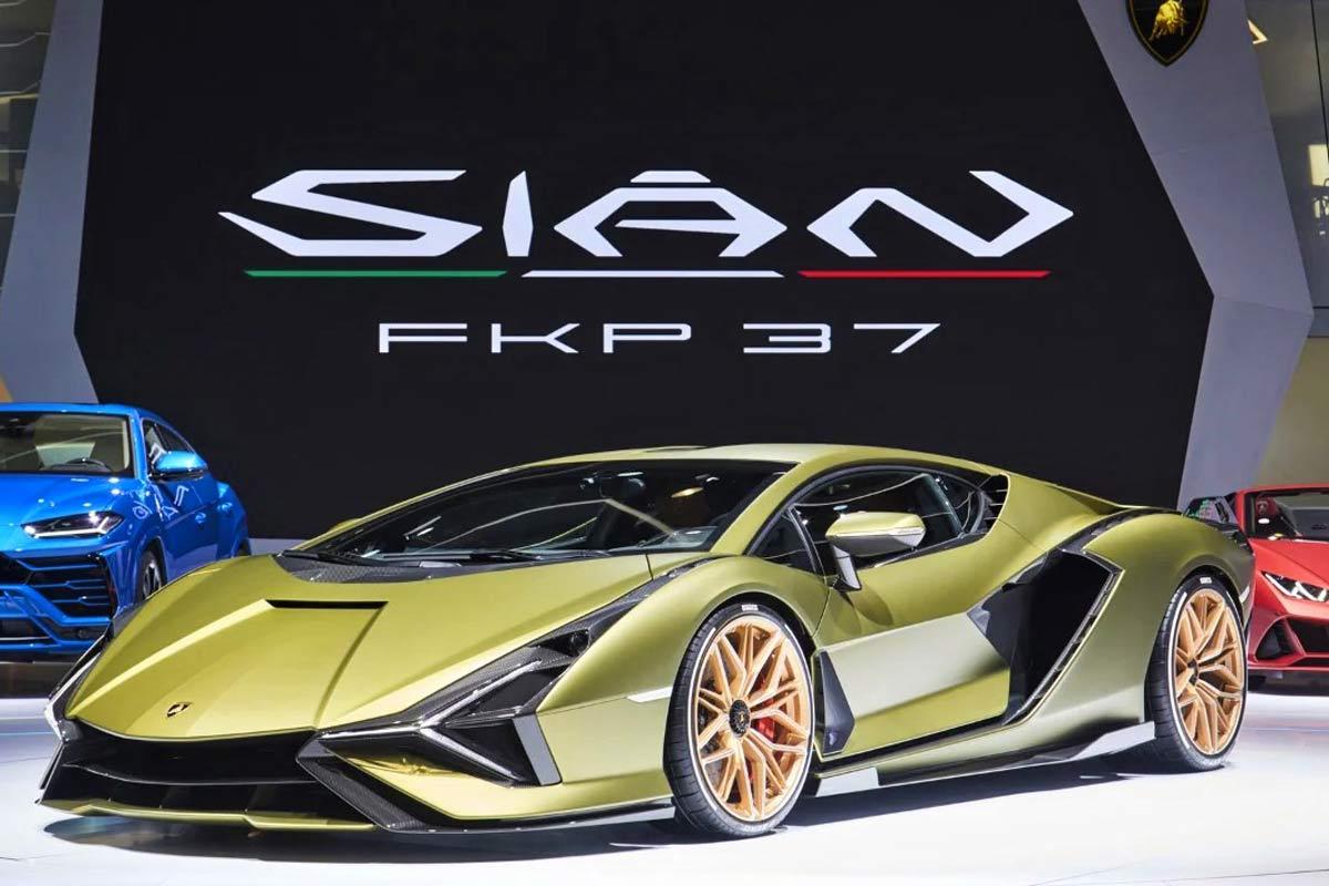 Posteriore Lamborghini Sian