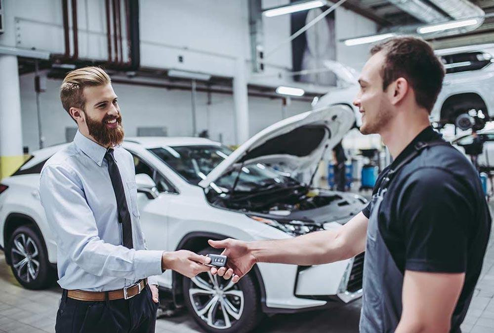 Manutenzione auto inclusa