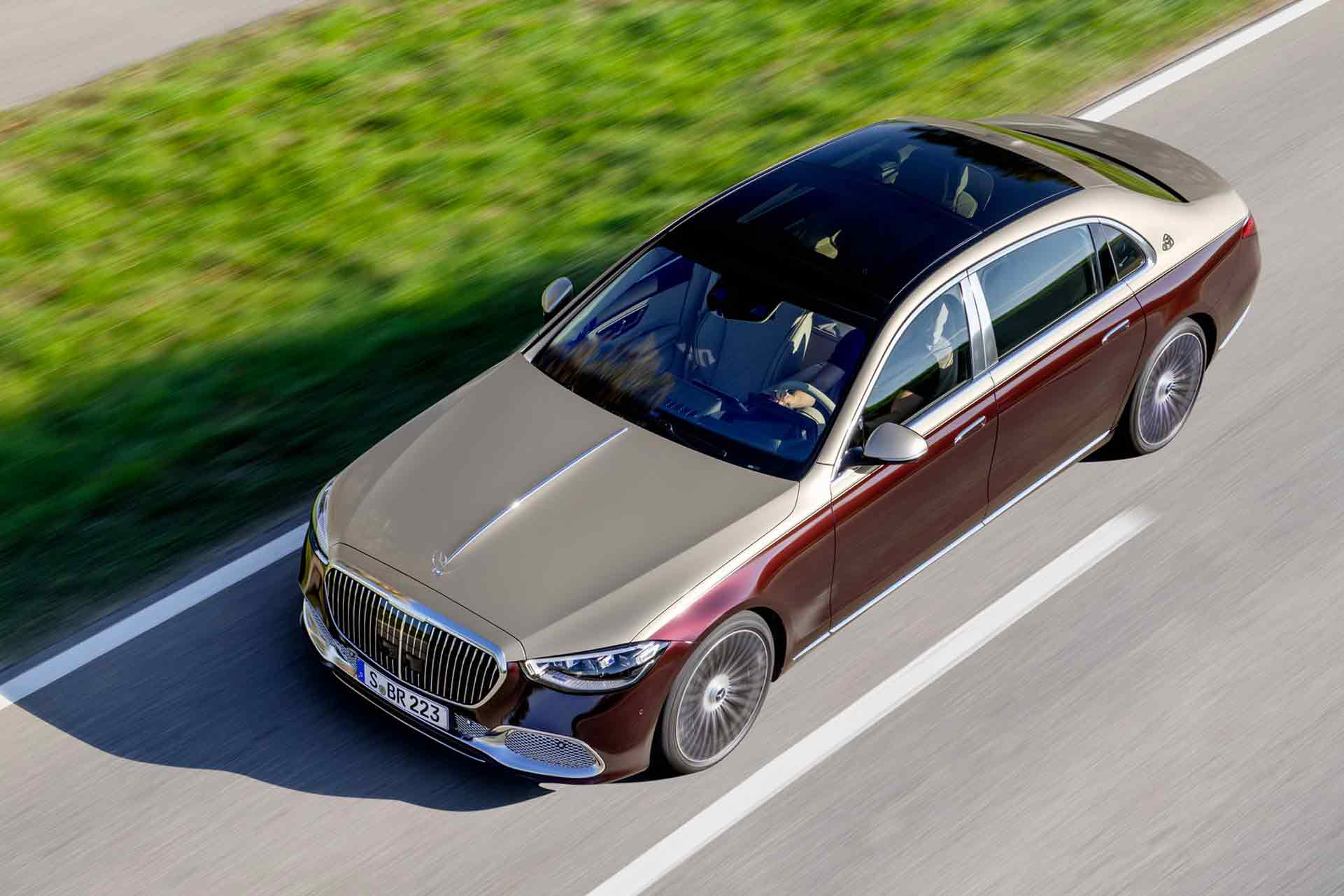 Nuova Mercedes Classe S Maybach
