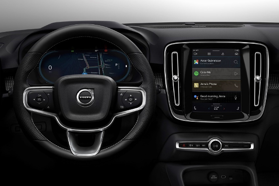 Nuovo infotainment per Volvo XC40 Plug-in Hybrid