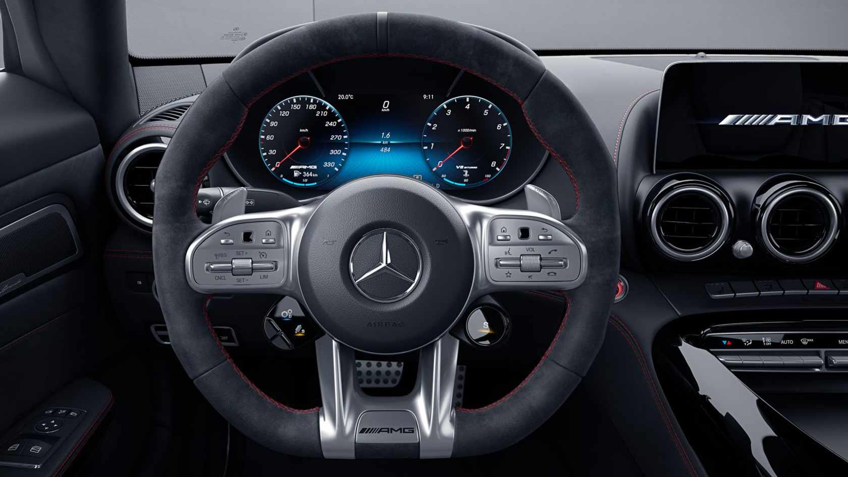 Palette al volante cambio automatico AMG