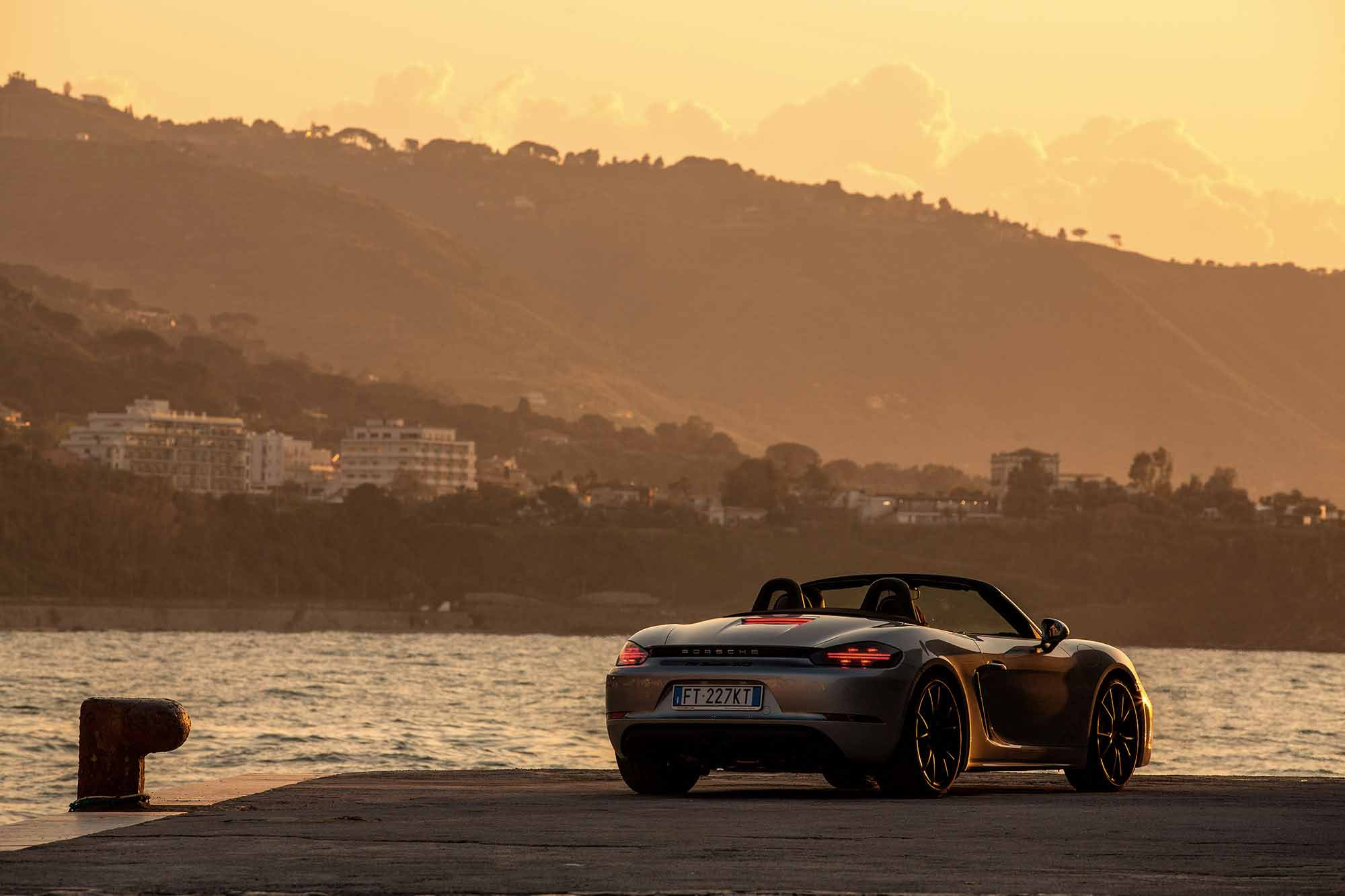 Porsche al Tramonto