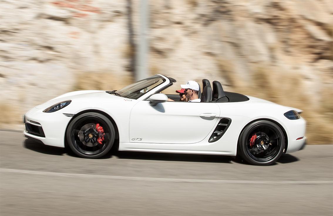 Porsche in Azione