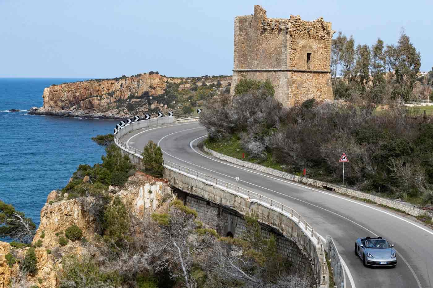 Porsche tra Mare e Castello