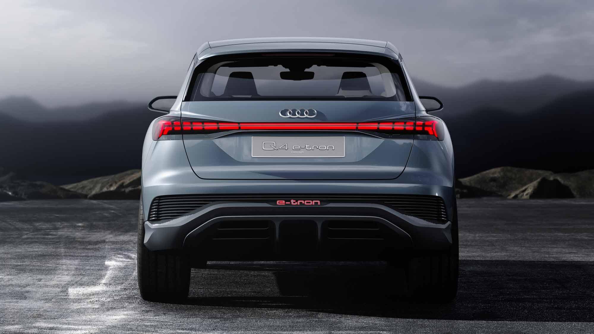Posteriore Audi Q4 e-tron