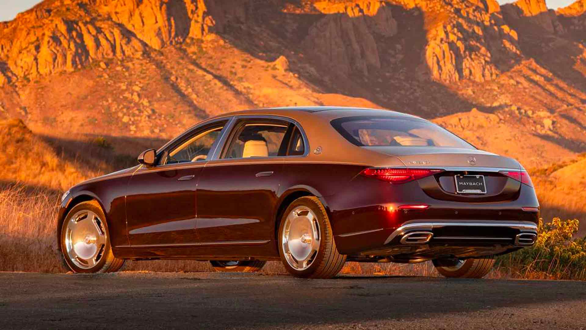 Posteriore Mercedes Classe S Maybach