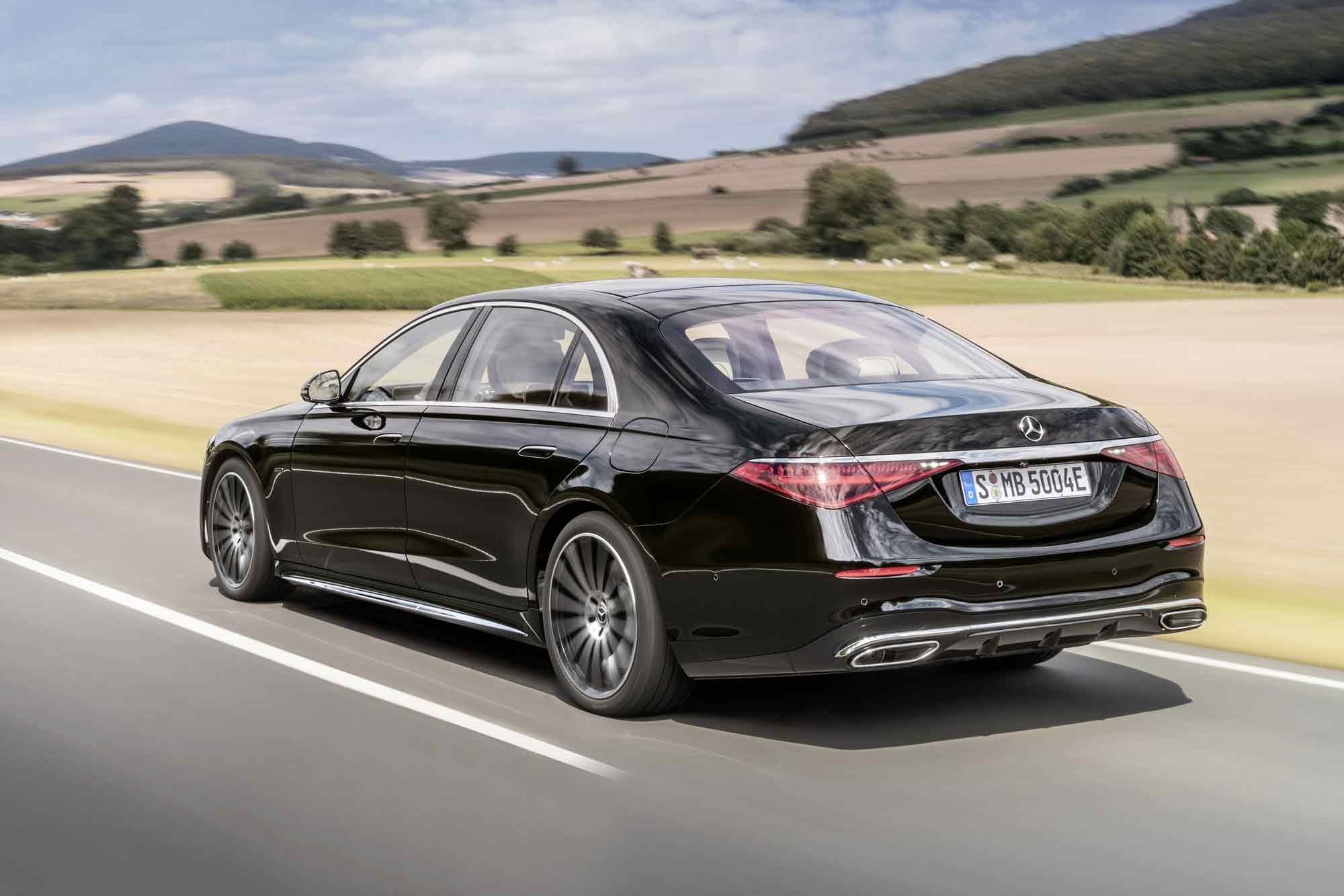 Mercedes Classe S 2020 su strada