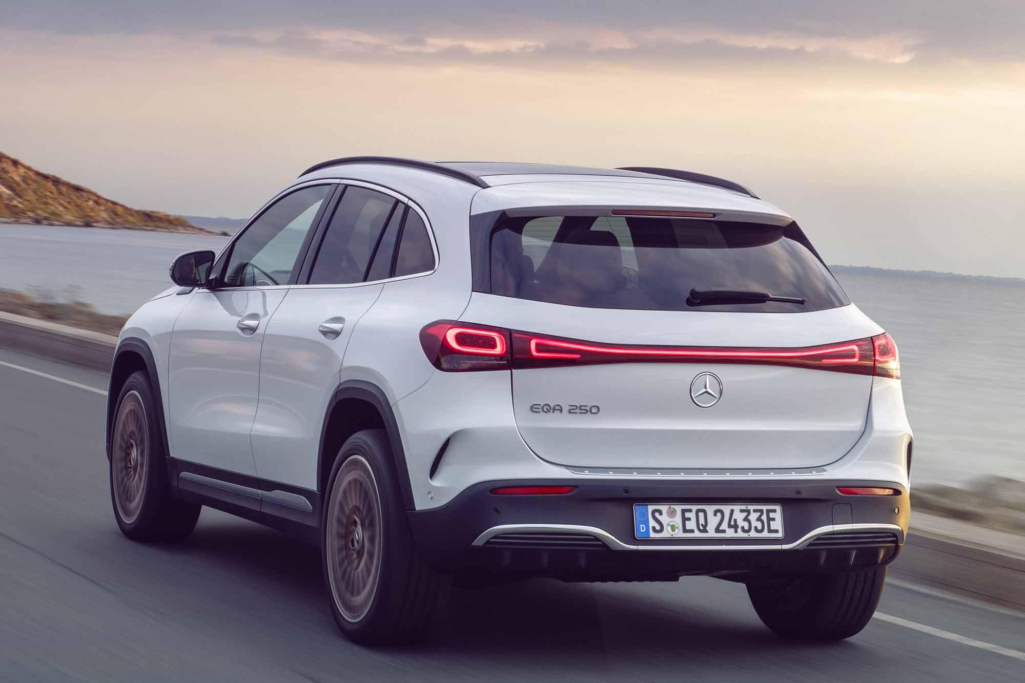 Posteriore Mercedes EQA