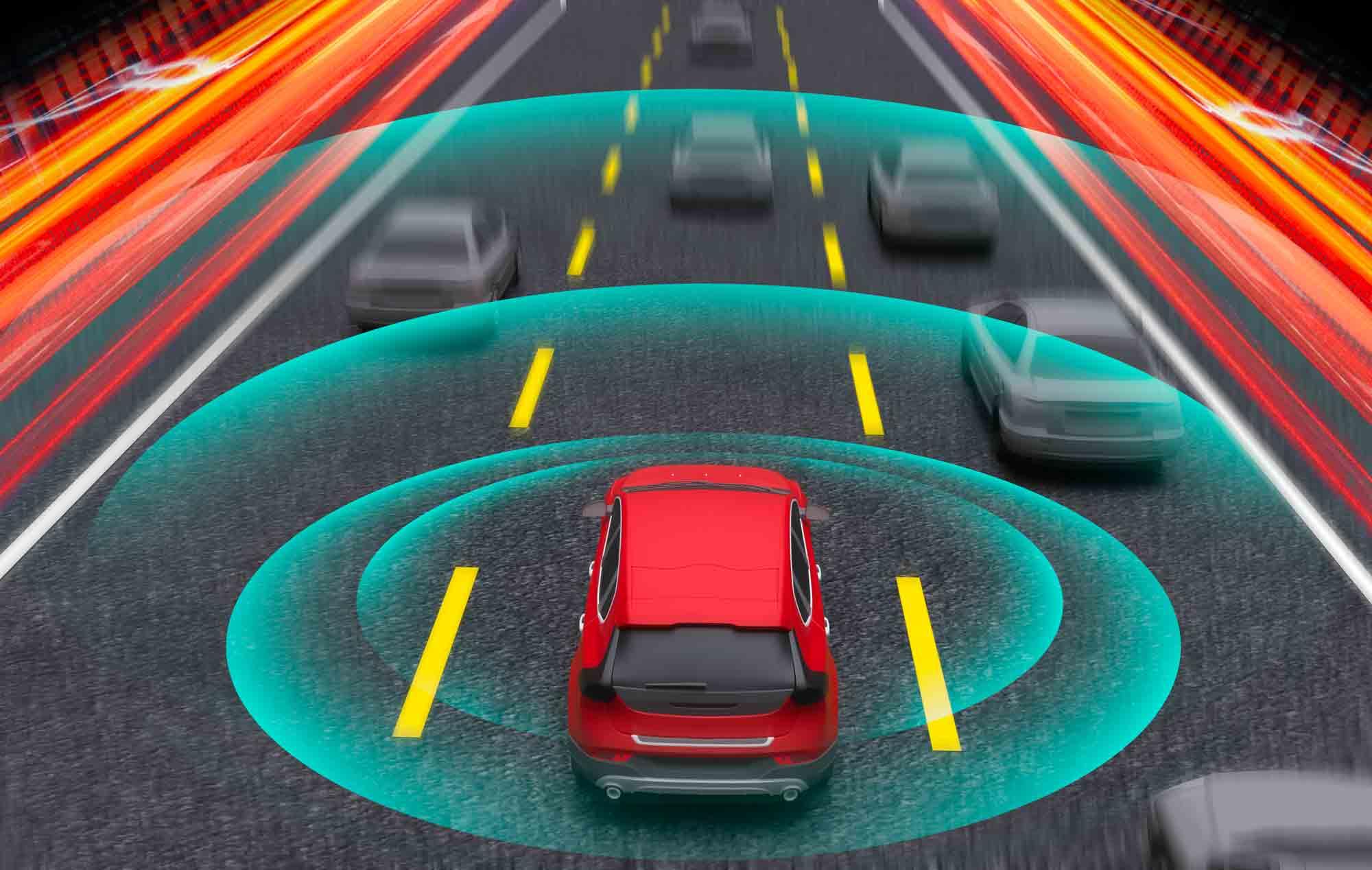 Radar e tecnologia veicoli in prossimità