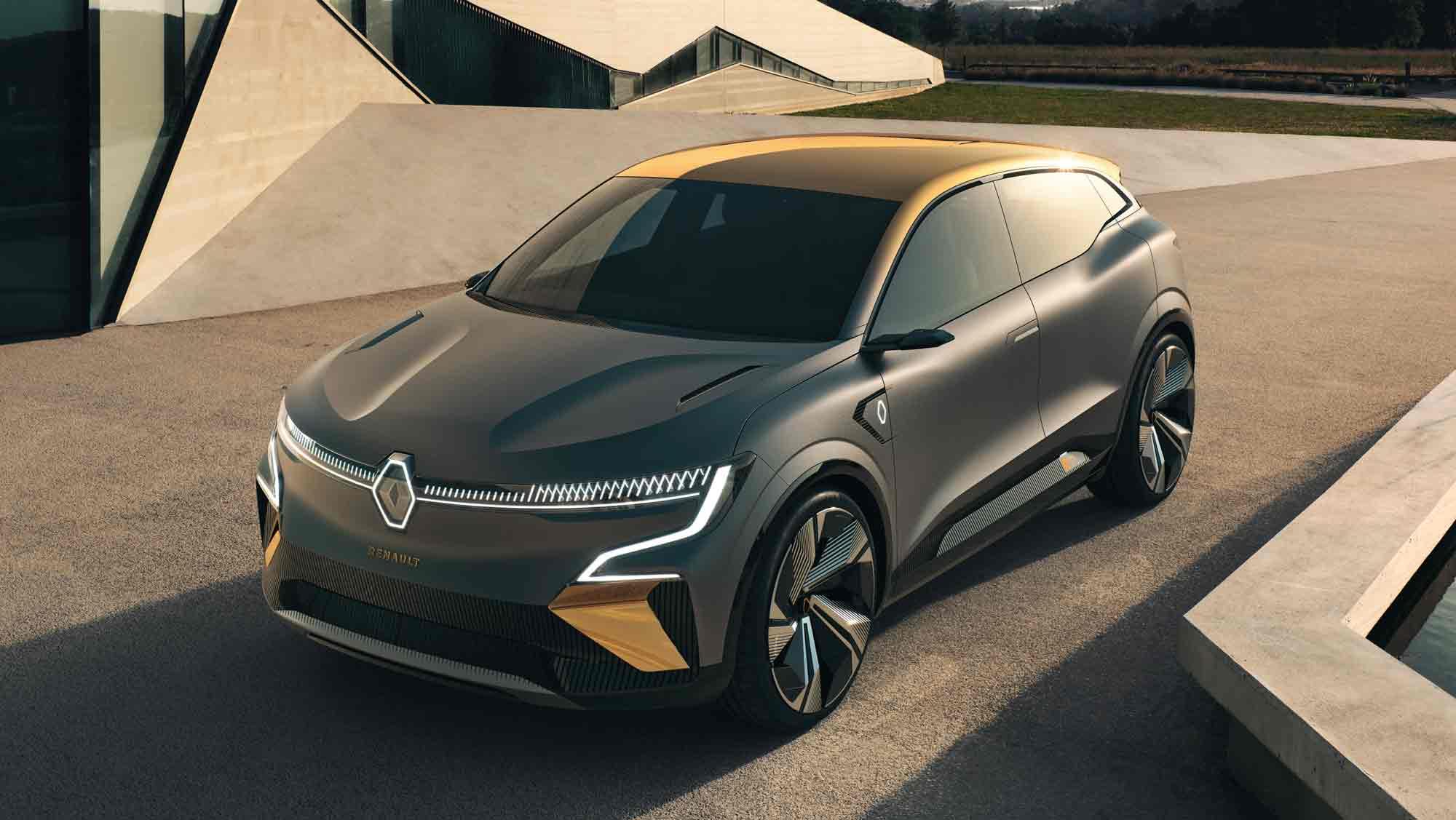 Renault Megane E-Vision