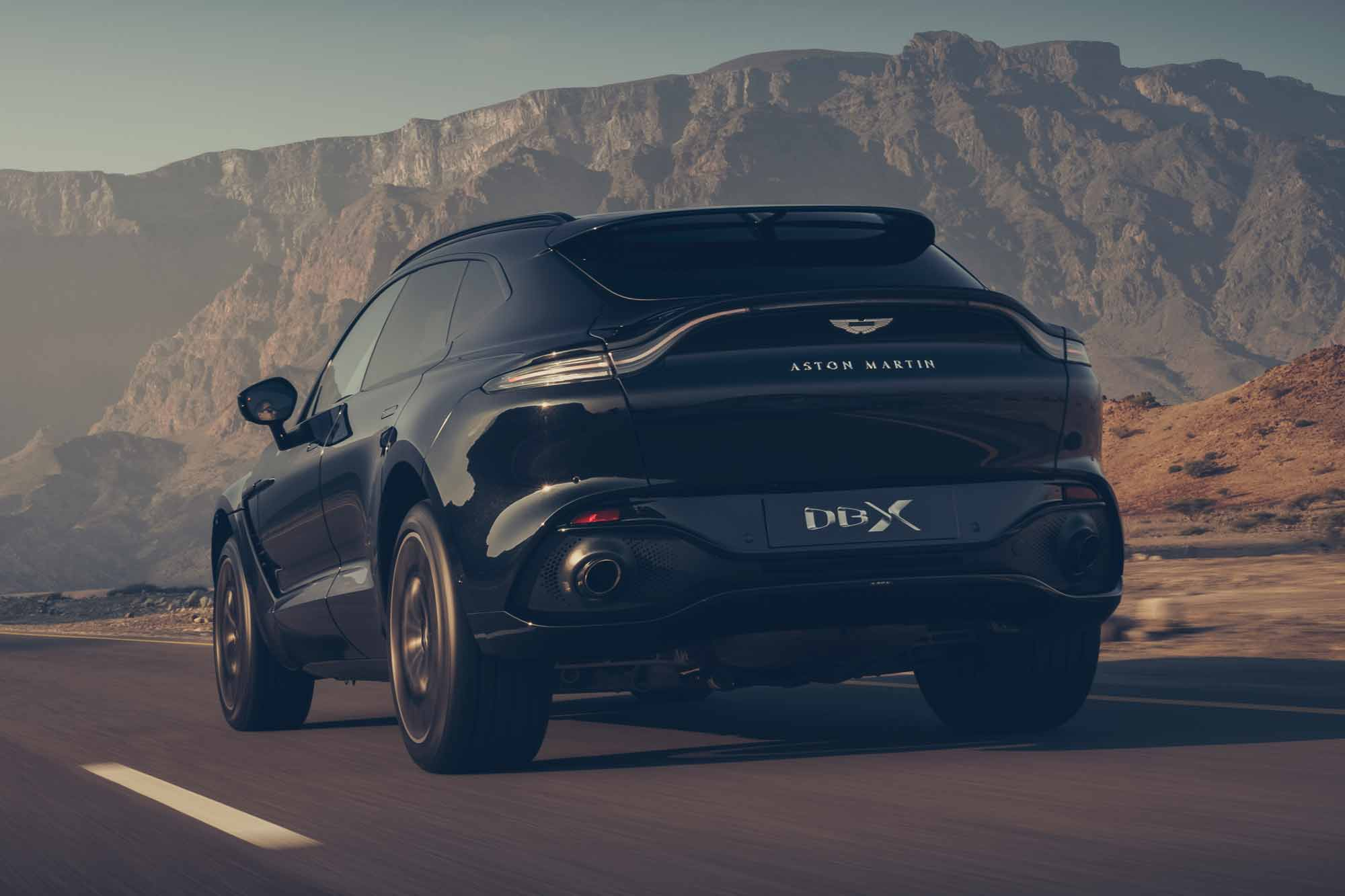 Retro Aston Martin DBX