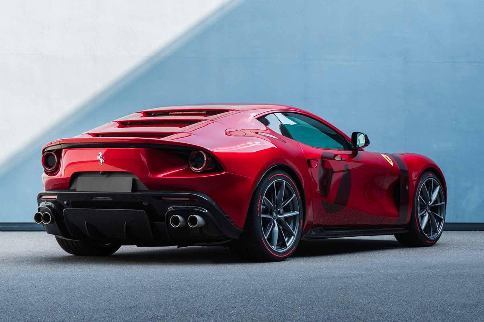 Retro Ferrari Omologata