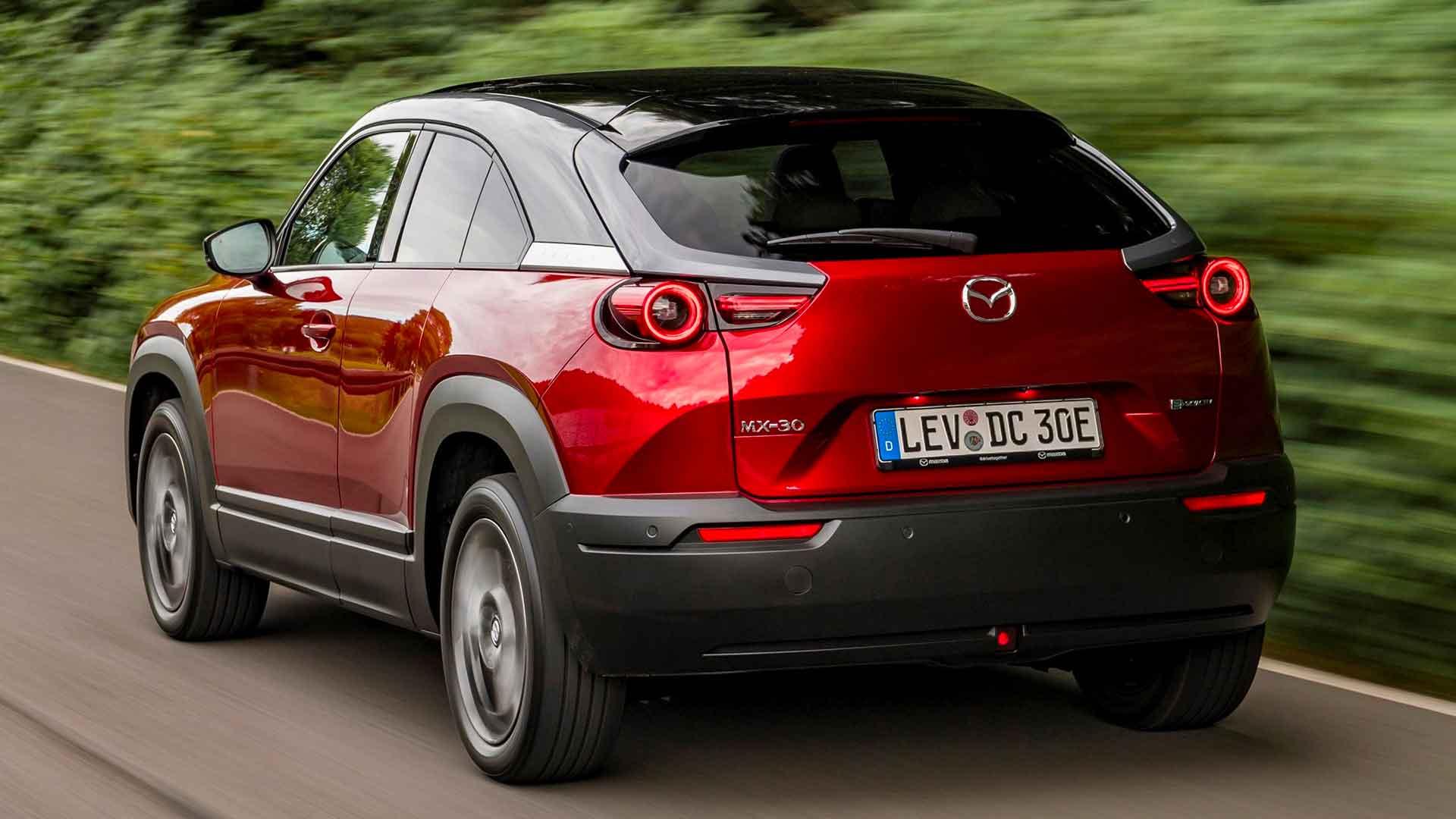 Retro Mazda MX 30