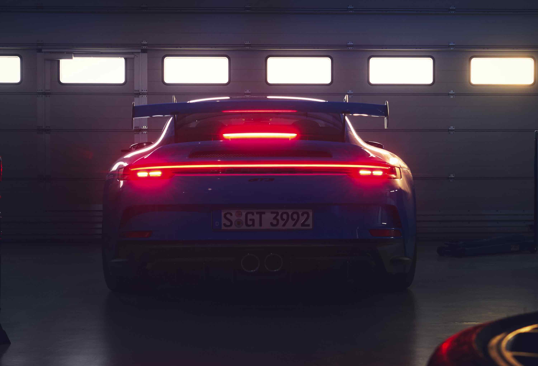 Retro Porsche 911 GT3