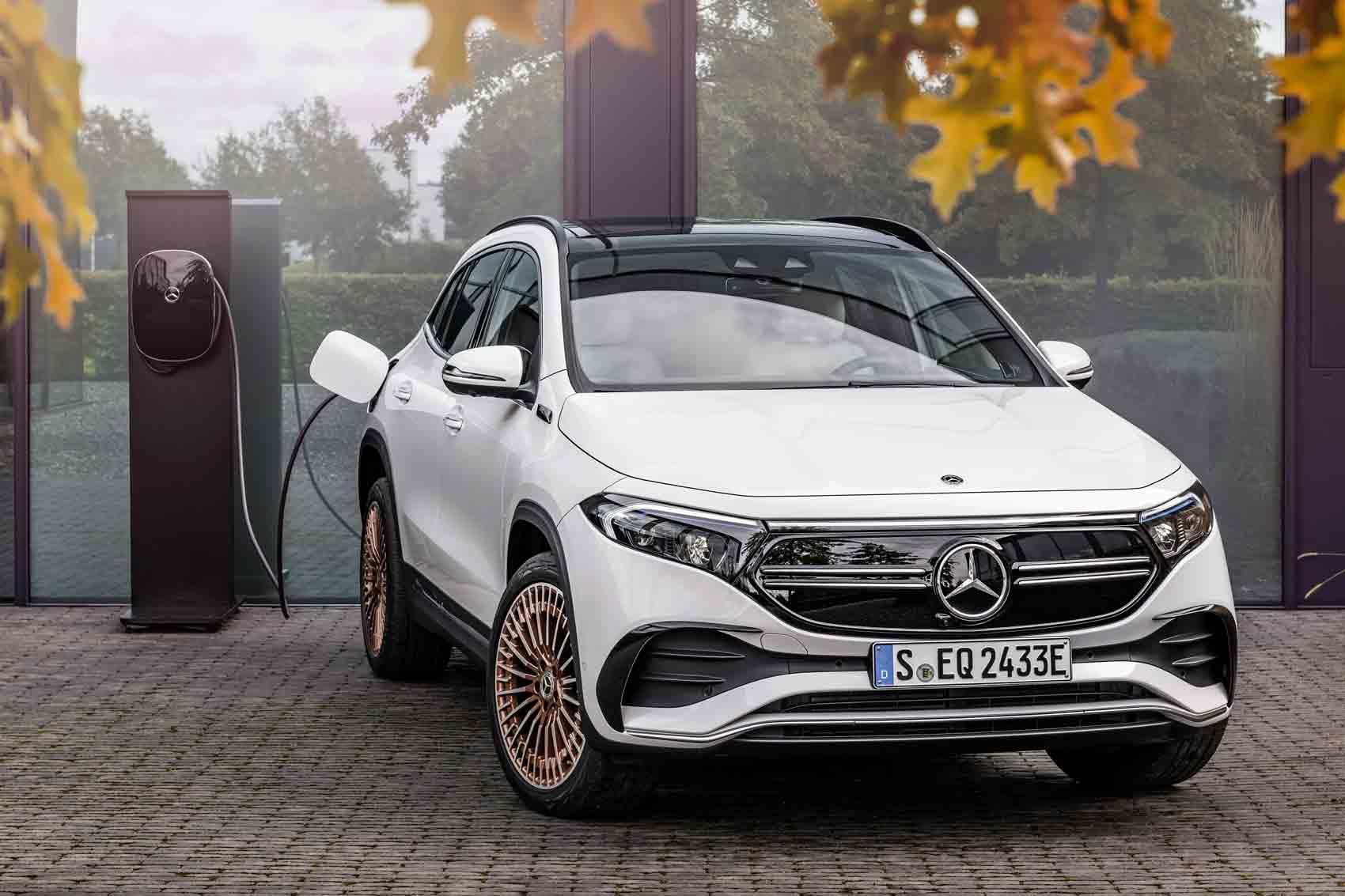Ricarica Mercedes EQA