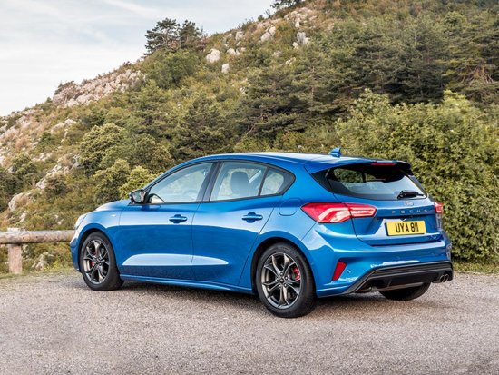 Nuova Ford Focus versione sportiva