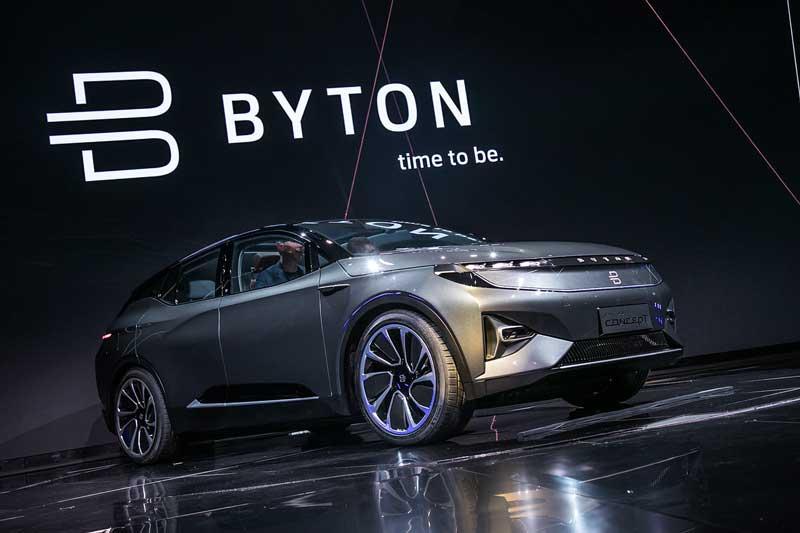 Prototipo SUV Byton