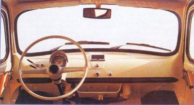 Interni vecchia Fiat 500