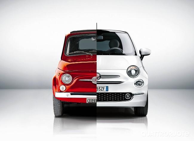Fiat 500 comparazione