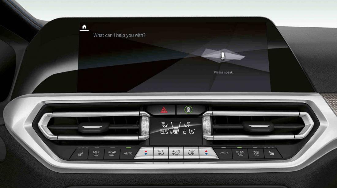 BMW Serie 3 restyling plancia