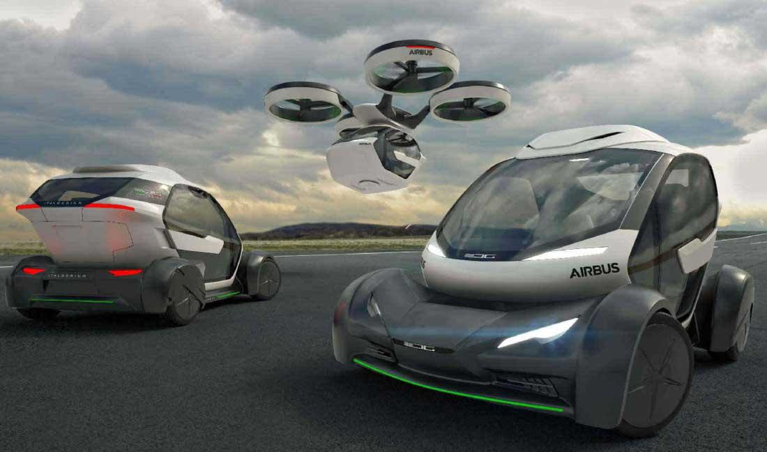Auto Airbus pronte nel 2030