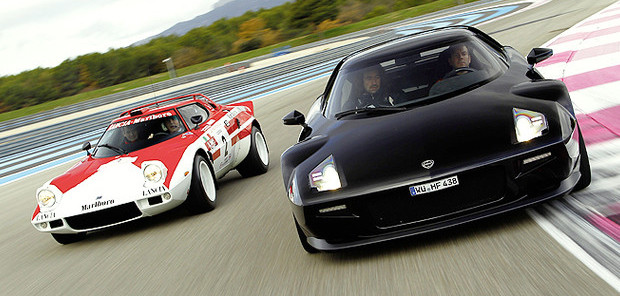 Lancia Stratos in pista